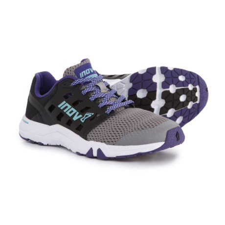 Inov-8 All Train 215 Cross Training Shoes (For Women) in Grey/Black/Purple