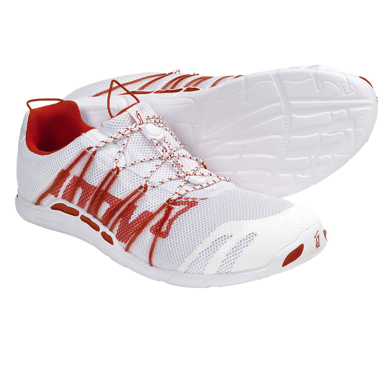 Lite 150 Running Shoes - Minimalist (For Men and Women) in White/Red