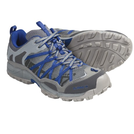 Inov-8 Flyroc 310 Trail Running Shoes - Minimalist (For Men and Women) in Stone/Azure