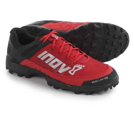 Inov-8 Mudclaw 300 Trail Running Shoes (Men) in Black/Red - Closeouts