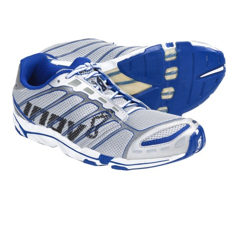 Inov-8 Road-X 255 Running Shoes - Minimalist (For Men and Women) in Silver/Blue