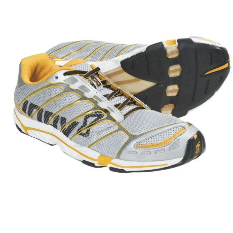 Inov-8 Road-X 255 Running Shoes - Minimalist (For Men and Women) in Silver/Yellow