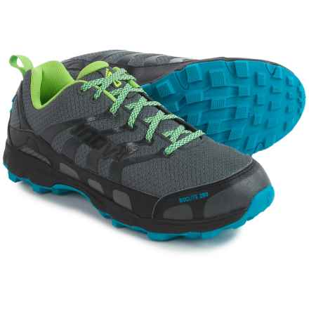 Inov-8 Roclite 280 Trail Running Shoes (For Men) in Dark Grey/Green/Blue - Closeouts