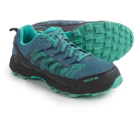 Inov-8 Roclite 280 Trail Running Shoes (For Women) in Blue/Teal/Grey - Closeouts