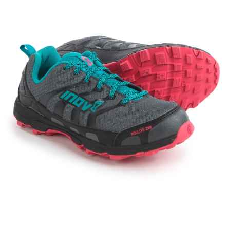 Inov-8 Roclite 280 Trail Running Shoes (For Women) in Dark Grey/Teal/Pink - Closeouts