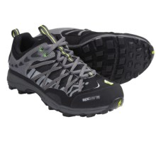 Inov-8 Roclite 295 Trail Running Shoes - Minimalist (For Men and Women) in Black/Lime - Closeouts