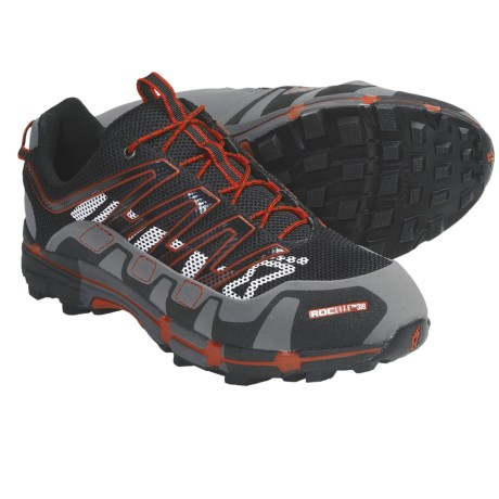 Inov-8 Roclite 319 Trail Running Shoes (For Men and Women) in Slate/Red
