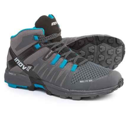Inov-8 Roclite 325 Hiking Boots (For Men) in Dark Grey/Blue/Black - Closeouts