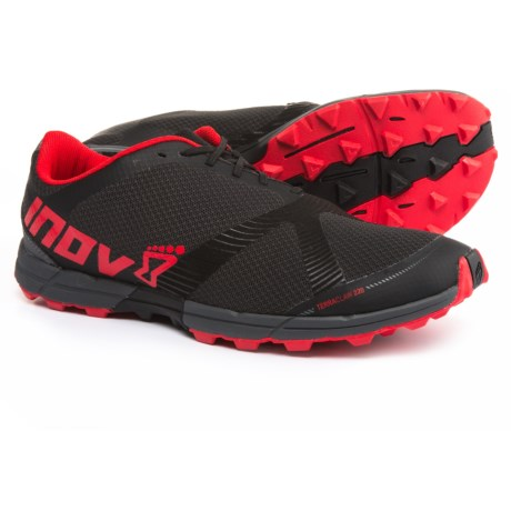 Inov-8 Terraclaw 220 Trail Running Shoes (For Men) in Black/Red/Grey