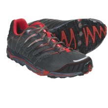 Inov-8 Terrafly 313 Gore-Tex® Trail Running Shoes - Waterproof, Minimalist (For Men and Women) in Dark Grey/Red - Closeouts