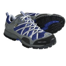 Inov-8 Terroc 345 Gore-Tex® Trail Running Shoes - Waterproof, Minimalist (For Men and Women) in Blue/Silver - Closeouts