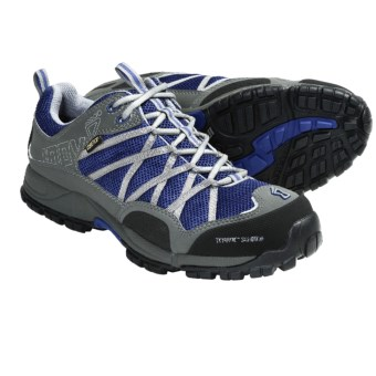Inov-8 Terroc 345 Gore-Tex® Trail Running Shoes - Waterproof, Minimalist (For Men and Women) in Blue/Silver