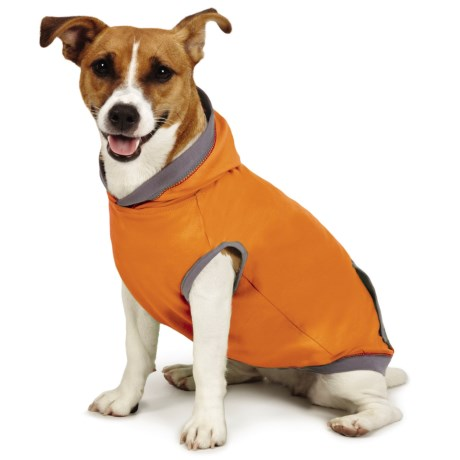 Insect Shield ® Premium Dog Hoodie in Orange