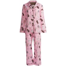Insominax Cotton Poplin Pajamas - 2-Piece, Long Sleeve (For Women) in Pink - Closeouts