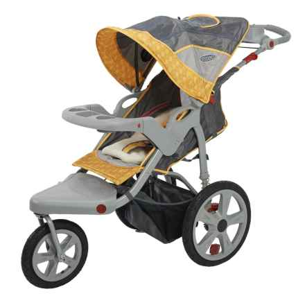 InStep Grand Safari Swivel-Wheel Jogging Stroller in See Photo - Closeouts