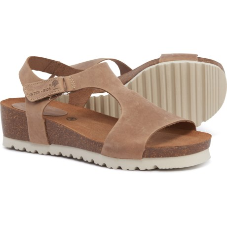 ffed509a83e3 INTERBIOS Made in Spain Footbed Sandals - Leather (For Women) in Beige