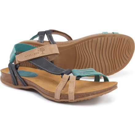 9eadb393c20e INTERBIOS Made in Spain Strappy Sandals - Leather (For Women) in  Beige Marino
