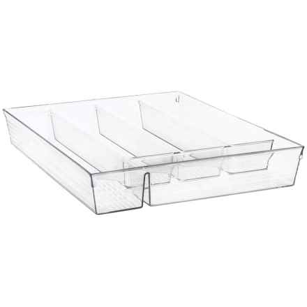 Interdesign InterDesign Acrylic Cutlery Tray in See Photo - Closeouts