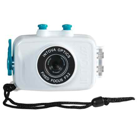 Intova Duo Sport Action Camera - Waterproof in White - Closeouts