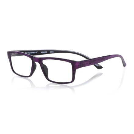 70584eeb22 INTROSPECS Square Reading Glasses (For Men and Women) in Purple