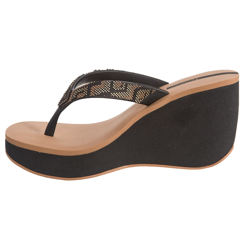 e108417e0cda2 Ipanema Bolero Wedge Shoes (For Women) - Save 50%