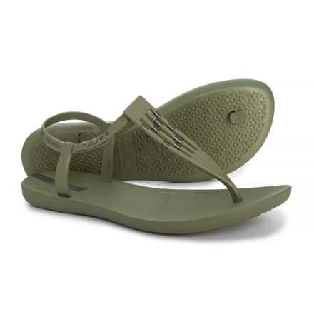 73c53e79c8ef Ipanema Sunray T-Strap Sandals (For Women) in Green - Closeouts