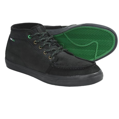 IPATH Ashbury Skate Shoes - Shearling-Lined (For Men) in Black/Black