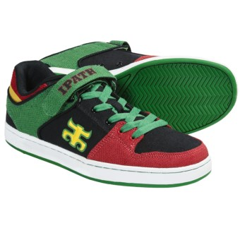 IPATH Graceland Skate Shoes (For Men) in Rasta/White