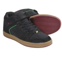IPATH Grasshopper Skate Shoes - Suede (For Men) in Black/Gum/Rasta - Closeouts