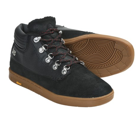IPATH Trenchtown Skate Shoes - Shearling-Lined (For Men) in Monks Robe/Gum
