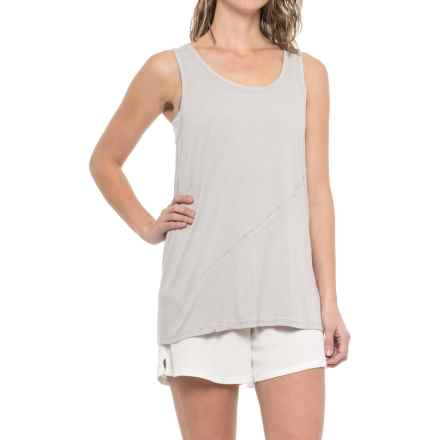iRelax Slub-Jersey Lounge Tank Top (For Women) in Visng Falling Snowflakes - Closeouts