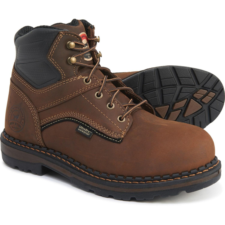 "Irish Setter Brown 6"" Ramsey Work Boots"
