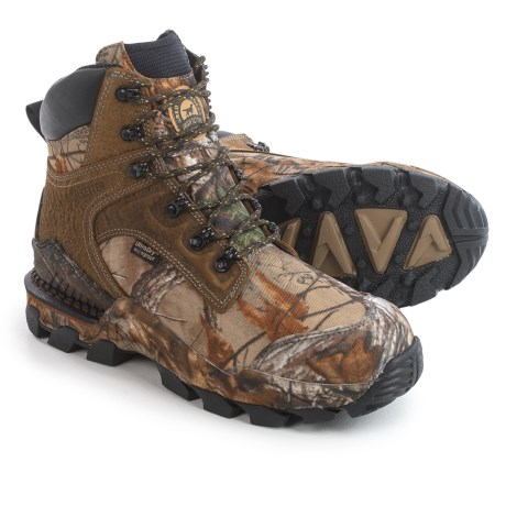 "Irish Setter Deer Tracker UltraDry Hunting Boots - Waterproof, 8"" (For Men) in Realtree Xtra"