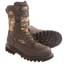 Irish Setter Gunflint Hunting Boots - Waterproof, Insulated (For Men) in Brown/Realtree Ap - Closeouts