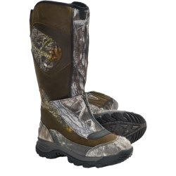 """Irish Setter Outrider Hunting Boots - 17"""", Waterproof, Insulated (For Men) in Dark Green/Mossy Oak"""