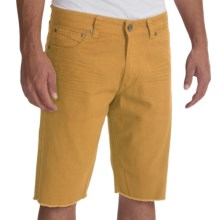 Iron Co. Five-Pocket Twill Shorts - Slim Fit (For Men) in Corn - Closeouts