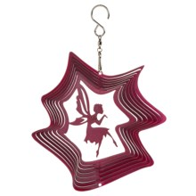 Iron Stop Designer Wind Spinner in Pink Fairy Kiss - Closeouts