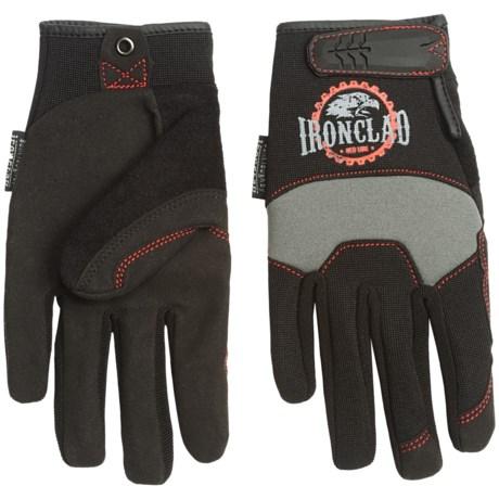 Ironclad Redline Workhorse Gloves (For Men) in Black/Grey