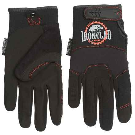 Ironclad Redline Workhorse Gloves (For Men) in Black - Closeouts