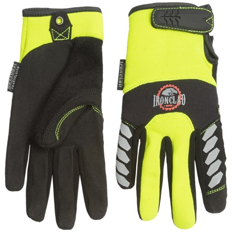 Ironclad Redline Workhorse Hi-Viz Gloves (For Men) in Yellow