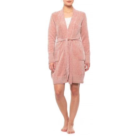 Isaac Mizrahi Chenille Robe (For Women) in Pink - Closeouts 33c96540c