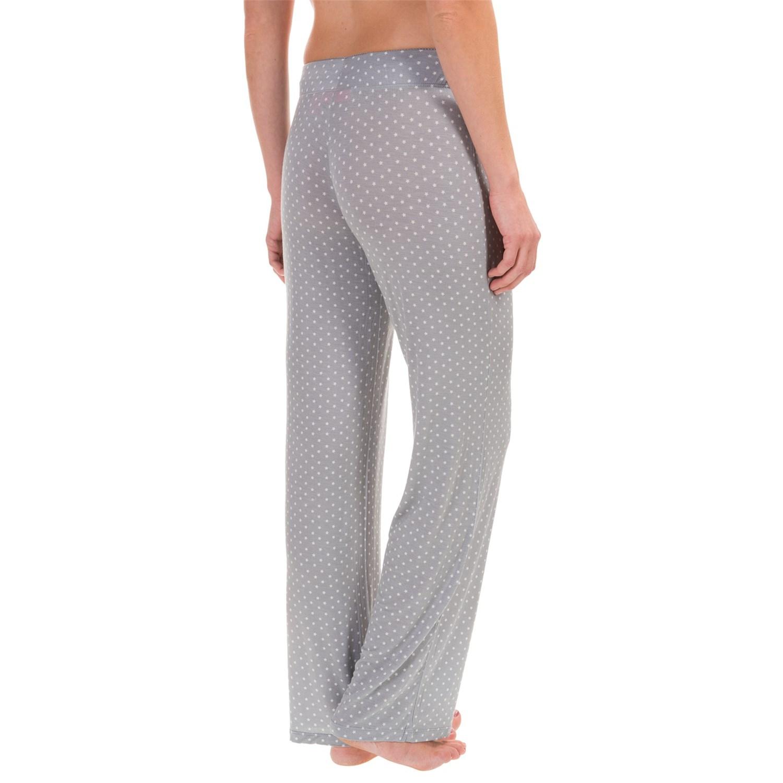 Isaac Mizrahi Star Dot Drawstring Lounge Pants (For Women) - Save 71%