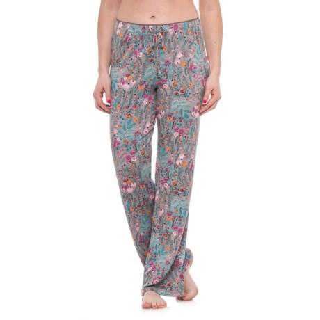 Isaac Mizrahi Whimsical Wild Self Lounge Pants (For Women) in Grey