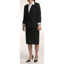 Isabella Boyfriend Suit (For Women) in Black - Closeouts