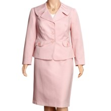 Isabella Matelasse Suit - Plus Size (For Women) in Pink - Closeouts