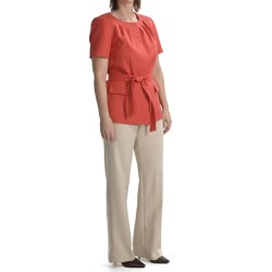 Isabella Pant Suit (For Women) in Papaya/Tan