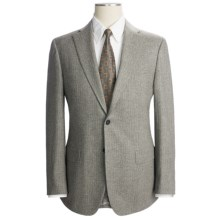 Isaia Beaded Stripe Suit - Wool-Cashmere Blend (For Men) in Grey Taupe - Closeouts
