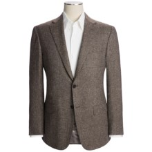 Isaia Birdseye Sport Coat - Wool-Silk-Cashmere (For Men) in Brown - Closeouts