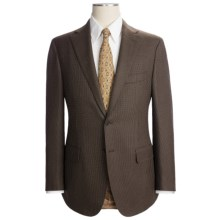 Isaia Black Sheep Nailhead Suit - Wool (For Men) in Brown - Closeouts