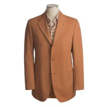 Isaia Cotton Sport Coat (For Men) in 3B/Sv/Burnt Orange - Closeouts